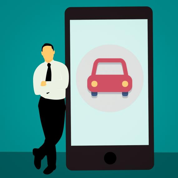 ▲車聯網就是車子版本的物聯網。(圖/Pixabay)